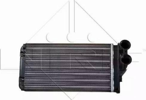 NRF 54251 - Heat Exchanger, interior heating uk-carparts.co.uk