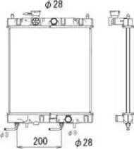 NRF 53571 - Cooler, drive battery uk-carparts.co.uk