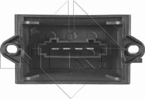 NRF 342050 - Resistor, interior blower uk-carparts.co.uk