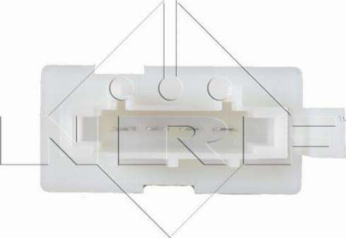 NRF 342067 - Resistor, interior blower uk-carparts.co.uk