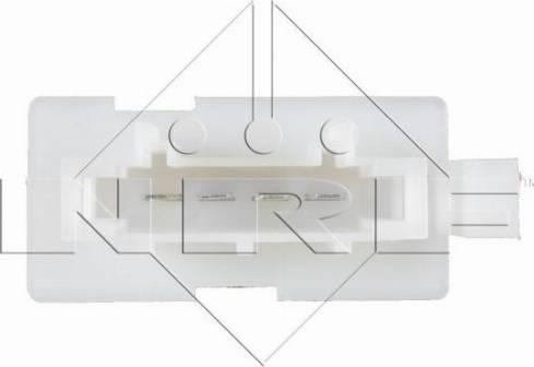 NRF 342009 - Resistor, interior blower uk-carparts.co.uk