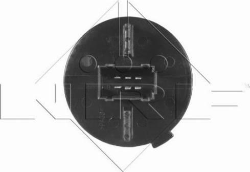 NRF 342006 - Resistor, interior blower uk-carparts.co.uk