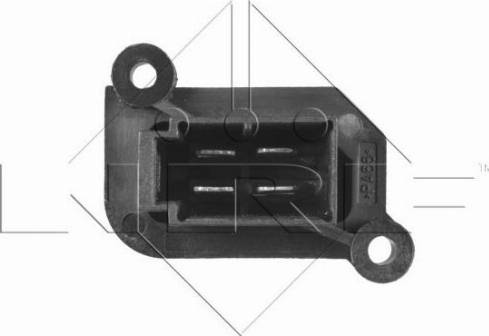 NRF 342014 - Resistor, interior blower uk-carparts.co.uk
