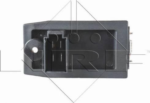 NRF 342015 - Resistor, interior blower uk-carparts.co.uk
