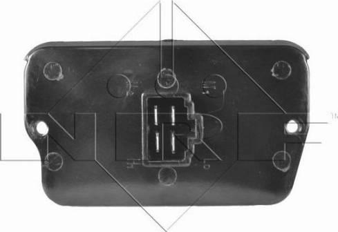 NRF 342017 - Resistor, interior blower uk-carparts.co.uk