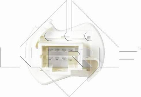 NRF 342030 - Resistor, interior blower uk-carparts.co.uk