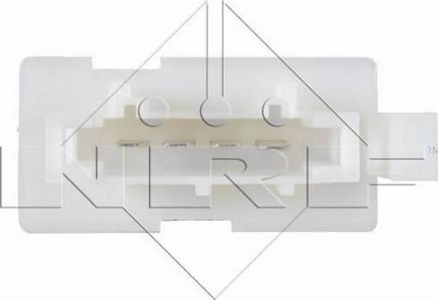 NRF 342031 - Resistor, interior blower uk-carparts.co.uk