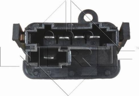 NRF 342073 - Resistor, interior blower uk-carparts.co.uk