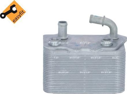 NRF 31774 - Oil Cooler, manual transmission uk-carparts.co.uk