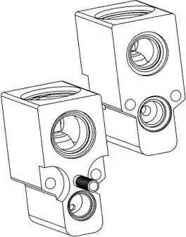 NRF 38342 - Expansion Valve, air conditioning uk-carparts.co.uk