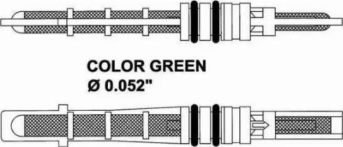 NRF 38353 - Expansion Valve, air conditioning uk-carparts.co.uk