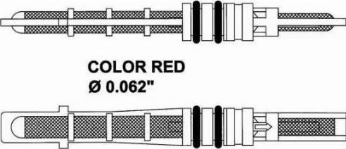 NRF 38208 - Expansion Valve, air conditioning uk-carparts.co.uk