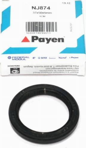 Payen NJ874 - Shaft Seal, crankshaft uk-carparts.co.uk