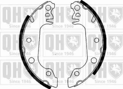 Quinton Hazell BS545 - Brake Set, drum brakes uk-carparts.co.uk