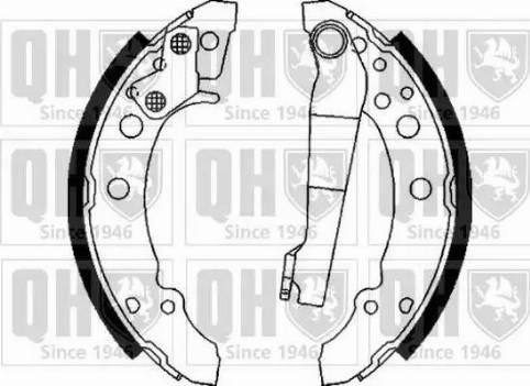 Quinton Hazell BS629 - Brake Set, drum brakes uk-carparts.co.uk