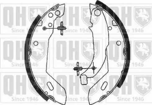 Quinton Hazell BS777 - Brake Set, drum brakes uk-carparts.co.uk