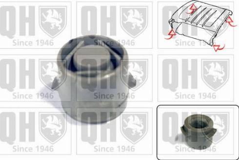 Quinton Hazell EM4847 - Engine Cover uk-carparts.co.uk
