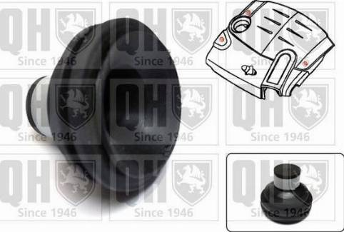Quinton Hazell EM4839 - Engine Cover uk-carparts.co.uk