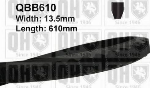 Quinton Hazell QBB610 - V-Belt uk-carparts.co.uk