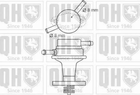 Quinton Hazell QFP88 - Fuel Pump uk-carparts.co.uk
