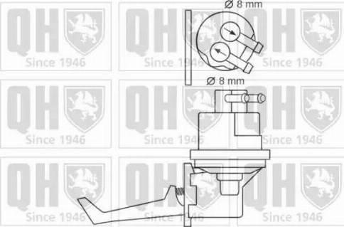 Quinton Hazell QFP265 - Fuel Pump uk-carparts.co.uk
