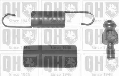 Quinton Hazell QTT436FK - Mounting Set, tensioner-/return pulley (timing belt) uk-carparts.co.uk