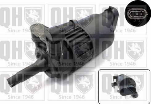 Quinton Hazell QWP024 - Water Pump, window cleaning uk-carparts.co.uk