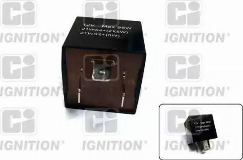 Quinton Hazell XFL117 - Flasher Unit uk-carparts.co.uk