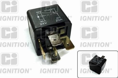 Quinton Hazell XRL121 - Relay, fuel pump uk-carparts.co.uk