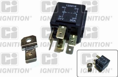Quinton Hazell XRL122 - Relay, fuel pump uk-carparts.co.uk