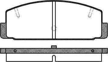 BOSCH 986424295 - Brake Pad Set, disc brake uk-carparts.co.uk