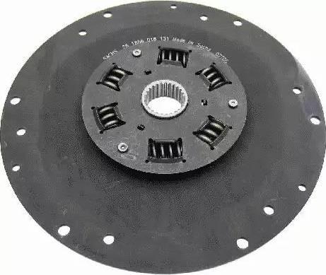 SACHS 1866018131 - Torsion Damper, clutch uk-carparts.co.uk
