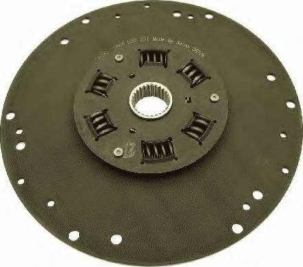 SACHS 1866032231 - Torsion Damper, clutch uk-carparts.co.uk