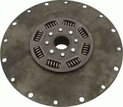 SACHS 1866156001 - Torsion Damper, clutch uk-carparts.co.uk