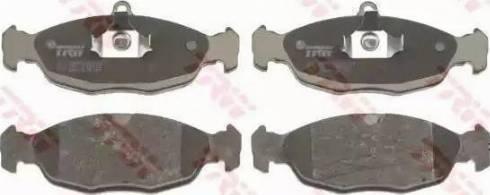 BOSCH 986460938 - Brake Pad Set, disc brake uk-carparts.co.uk