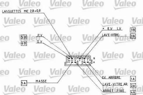 Valeo 251290 - Steering Column Switch uk-carparts.co.uk