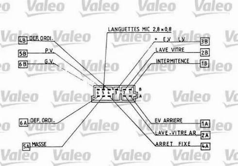 Valeo 251266 - Steering Column Switch uk-carparts.co.uk