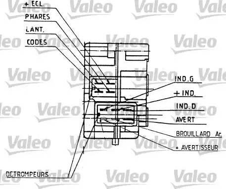 Valeo 251276 - Steering Column Switch uk-carparts.co.uk