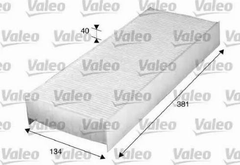 Valeo 716010 - Filter, interior air uk-carparts.co.uk