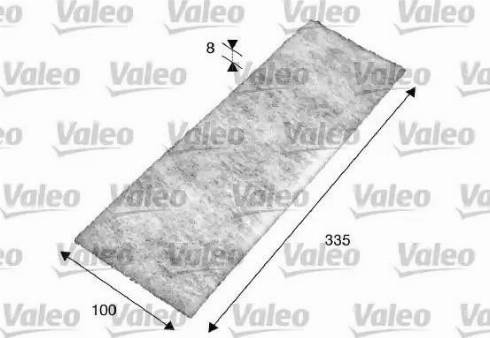 Valeo 716017 - Filter, interior air uk-carparts.co.uk