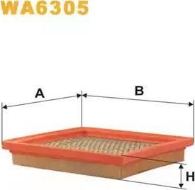 WIX Filters WA6305 - Air Filter uk-carparts.co.uk