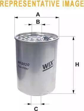 WIX Filters WF8018 - Fuel filter uk-carparts.co.uk