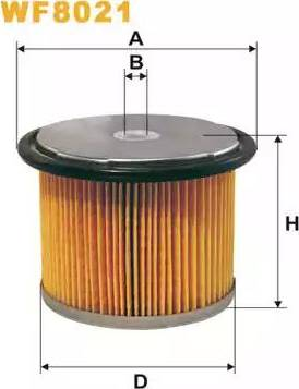 WIX Filters WF8021 - Fuel filter uk-carparts.co.uk