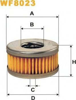 WIX Filters WF8023 - Fuel filter uk-carparts.co.uk