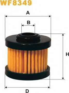 WIX Filters WF8349 - Fuel filter uk-carparts.co.uk