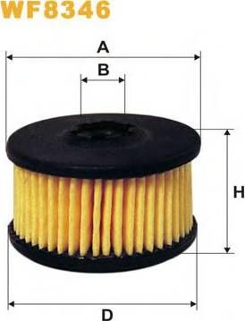 WIX Filters WF8346 - Fuel filter uk-carparts.co.uk