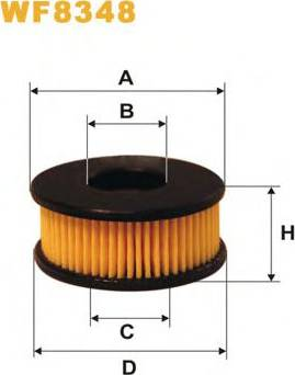 WIX Filters WF8348 - Fuel filter uk-carparts.co.uk