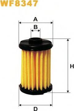 WIX Filters WF8347 - Fuel filter uk-carparts.co.uk