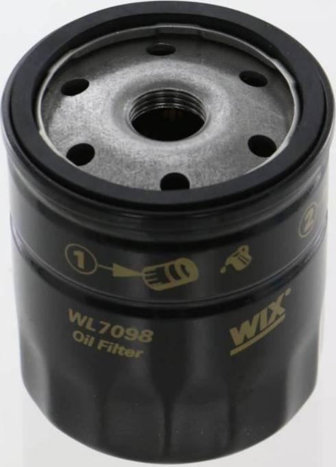 WIX Filters WL7098 - Oil Filter uk-carparts.co.uk