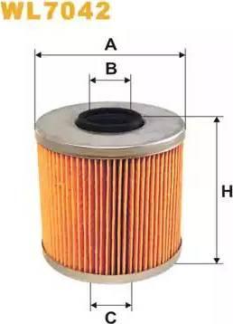 WIX Filters WL7042 - Oil Filter uk-carparts.co.uk